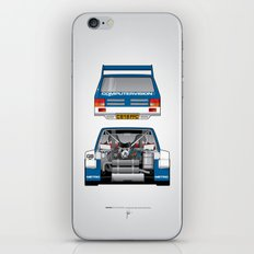 Outline Series N.º7, MG Metro 6R4, 1986 iPhone & iPod Skin