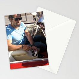Parisian Mugshots - The Man in the Jaguar (Gueules de Parisiens) Stationery Cards
