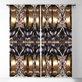 no. 317 navy gold silver black white red gray Blackout Curtain