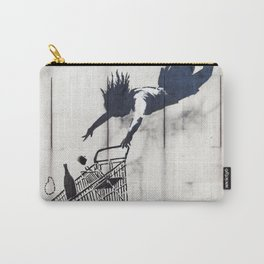 Banksy, Shop Until You Drop Carry-All Pouch