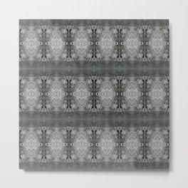 CharcolSnow Metal Print