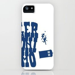Geronimo Doctor Who iPhone Case