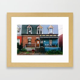 Le Plateau Mont Royal - Montreal, Canada - #7 Framed Art Print