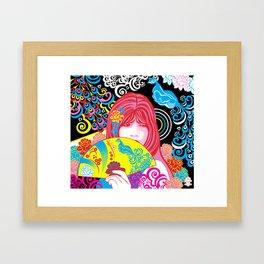 Harajuku Framed Art Print