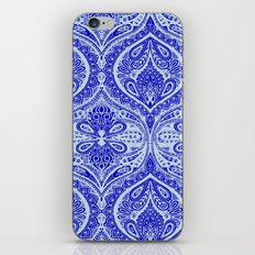 Simple Ogee Blue iPhone & iPod Skin