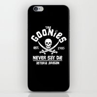 the goonies iPhone & iPod Skins featuring The goonies by CarloJ1956