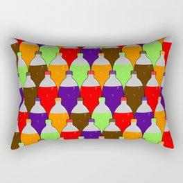 fizzy soda pop Rectangular Pillow