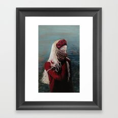 Girl #1 Framed Art Print
