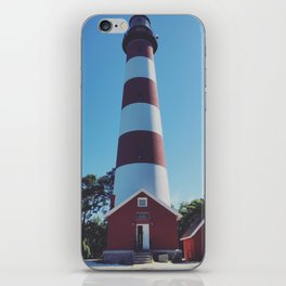Assateague Light iPhone & iPod Skin