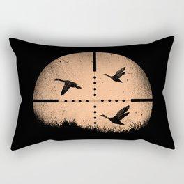 Duck Hunting Rectangular Pillow