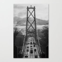 Lion's Gate Bridge Canvas Print