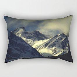 Indian Peaks: Winter Sun 1 Rectangular Pillow