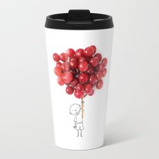 Boy with grapes - NatGeo version Travel Mug