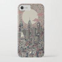 philadelphia iPhone & iPod Cases featuring philadelphia by Bekim ART