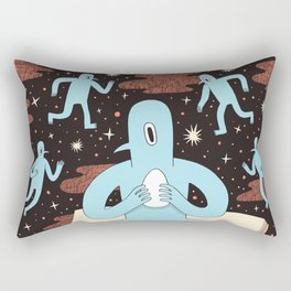 Birdmen Rectangular Pillow