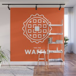 Hail the Waffle Wall Mural