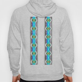 in turquoise Hoody