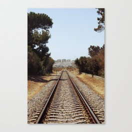 Tracks......... Canvas Print