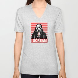 I Scream... Unisex V-Neck