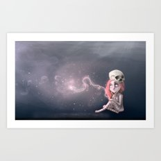 Still waiting for something that is not here yet Art Print