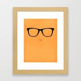 Cudi Opticals Framed Art Print
