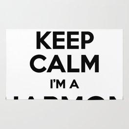 I cant keep calm I am a HARMON Rug