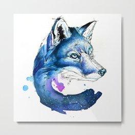 Celestial Fox Metal Print