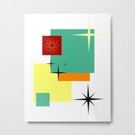 All My Squares Metal Print