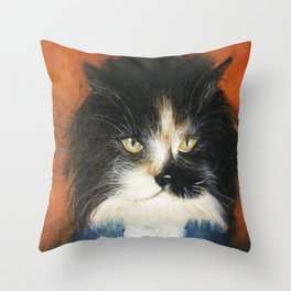 aristochat Throw Pillow