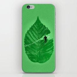 Loose Leaf iPhone Skin