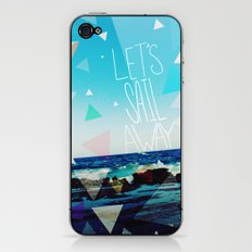 Let's Sail Away iPhone & iPod Skin
