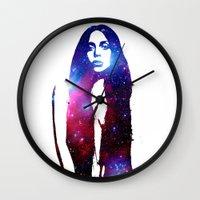 artpop Wall Clocks featuring ARTPOP by Devon Jack