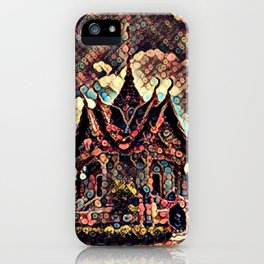 Glowing Temple iPhone Case