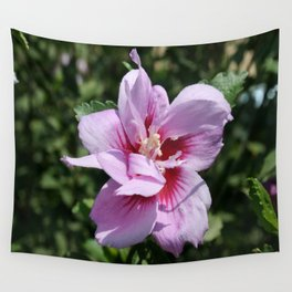 Double Headed Marsh Mallow Althaea Officinalis  Wall Tapestry