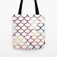 koi fish Tote Bags featuring Koi Fish by JoanaRosaC
