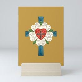 Luther's Rose Mini Art Print