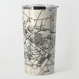 Vintage Map of Palo Alto California (1899) Travel Mug