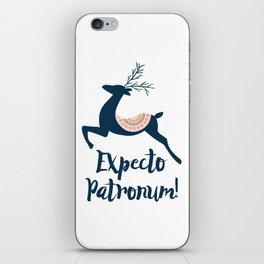 Expecto patronum! iPhone Skin