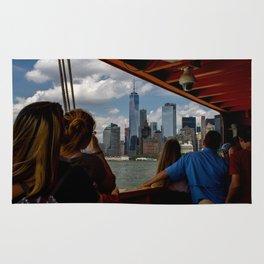 Freedom Tower & Tourists Rug