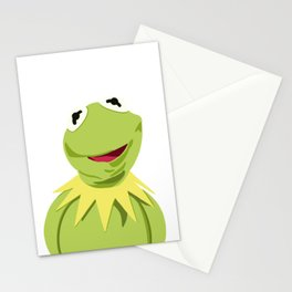 Kermit - The Optimistic Frog Stationery Cards