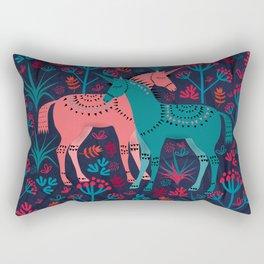 Unicorn Land Rectangular Pillow