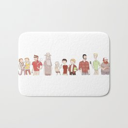 The Broship of the Ring Bath Mat