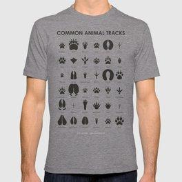 Common Animal Tracks T-shirt