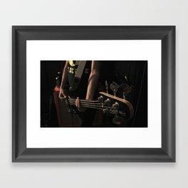 Slappa Da Bass Framed Art Print