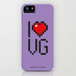 PAUSE – I Love Video Games iPhone Case