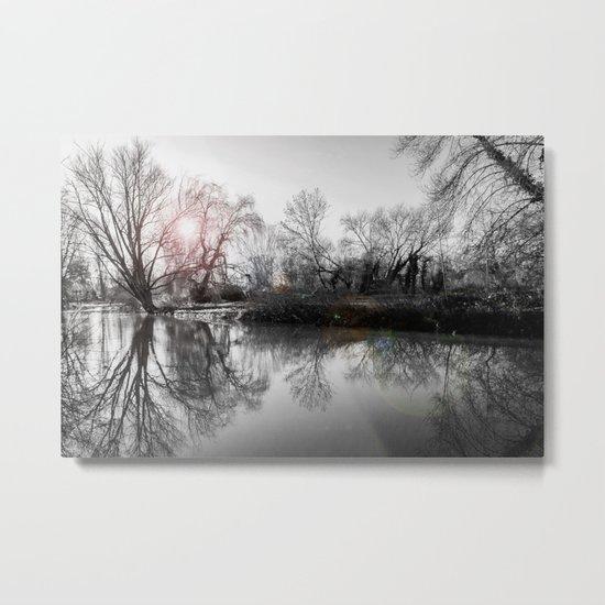 TREE-FLECTION Metal Print