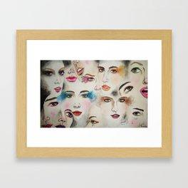 Imperfections Framed Art Print