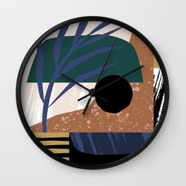 Sunset I Wall Clock