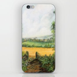 Forest Clearing - 1988 iPhone Skin