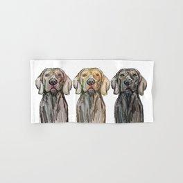 Triple Hunting Dogs Hand & Bath Towel